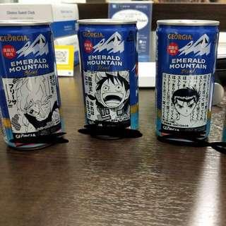 🚚 Jump 週刊少年限量漫畫飲料罐