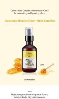 Paparecipe Bombee Honey Moist Emulsion 150ml #raya