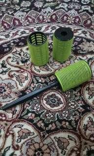 Hair Curler / Roll Rambut / Isi 3 Pcs dan Alat pegang