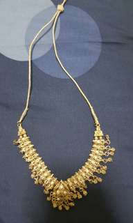 Indian Costume Jewellery (White stones + silver)