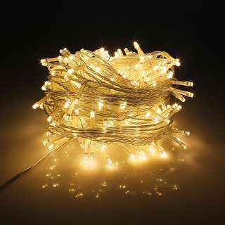 285. PMS 1000 LED String Fairy Lights on Clear Cable with 8 Light Effects