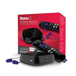 Roku 3 TV Streaming Media Box