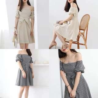 Anabel Checkered Dress