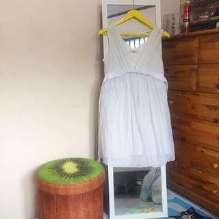 Cavalier White Dress