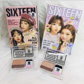 EYESHADOW SIXTEEN