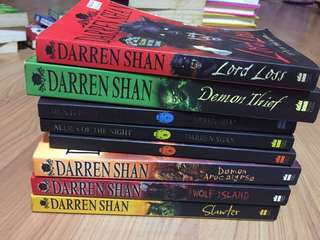 darren shan series books