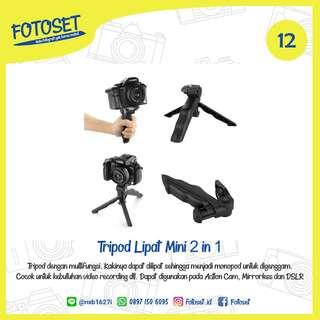 Tripod Lipat Mini 2 in 1