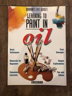 How to guide book: Oil Painting
