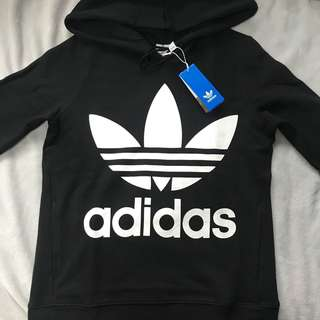 Brand new black Adidas originals hoodie