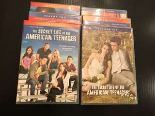 Life of american teenager dvds set .6 seasons.