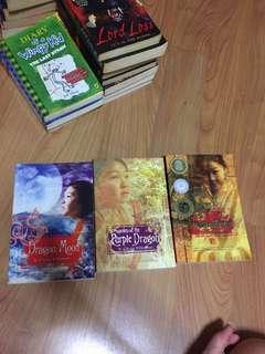 dragonkeeper / dragon keeper / dragon moon / garden of the purple dragon carole wilkinson
