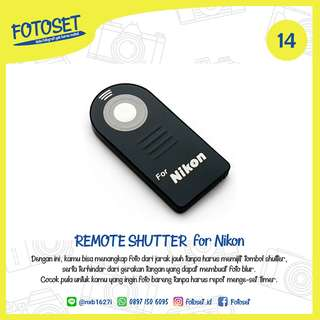 Wireless IR Remote Shutter for Nikon