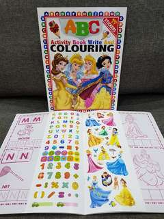123 / ABC Activity Book