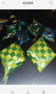 Ribbon Ketupat Decorations- Hari Raya Collections