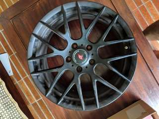 "17"" Inforged Rims 5x 114.3 1 year old"