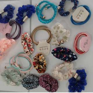 7 for $5 hair accessories sale