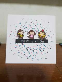 Birthday card (B)