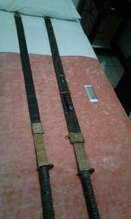 Samurai Jepang Asli... hadiah dari Sultan Jogya