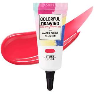 Edute House colourful drawing water colour blusher