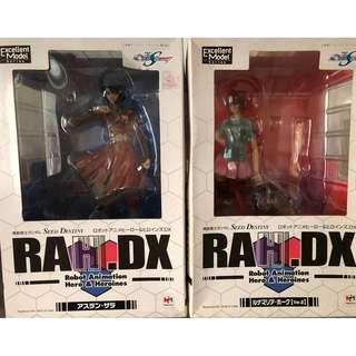 1/8 RAH DX Gundam Seed Destiny - Athrun Zala & Lunamaria