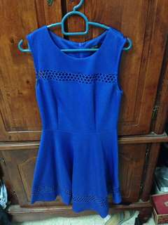 #MidMay75 Nichii Blue Dress