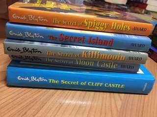 enid blyton the secret of series
