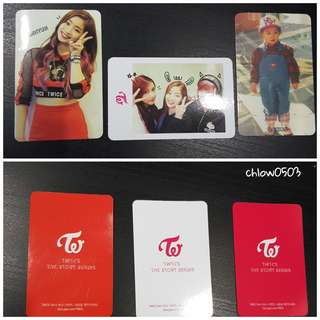(WTS) Twice - The Story Begins Official Photocard