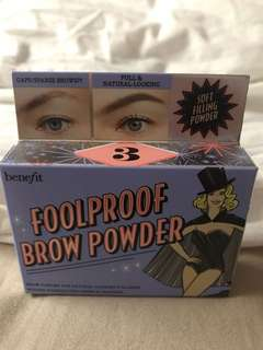 Foolproof Brow Powder (shade #3)