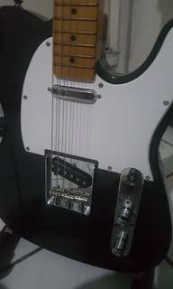 SX Telecaster with Fender Locking Tuners