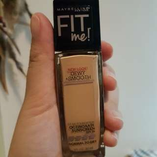 Maybelline Fit me! 125 Nude Beige