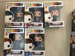 Funko Pops supernatural