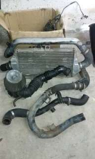 Intercooler EVO III siap piping