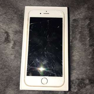 iPhone 6 64 Gb smashed screen cheap