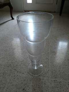vas kristal besar..IVV Italy