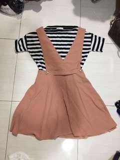 🚚 粉色洋裝