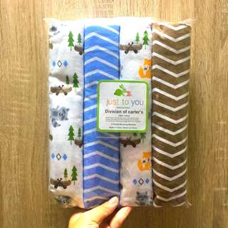 Carter's Flannel Baby Blankets