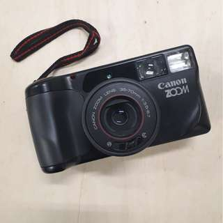 Camera Analog Canon Autoboy Zoom Date 35mm