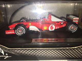 1:43 Ferrari F2002 no.1 Michael Schumacher Collection #mayflashsale