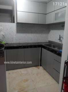 Kitchen set hpl elegant