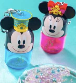Tokyo Disneysea 35th Anniversary Mickey Minnie Candy Keychain