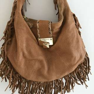 Authentic jimmy choo hobo bag