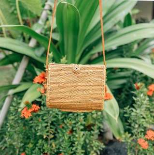 Clutch - Rattan Bag from Bali