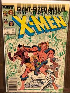 The Uncanny X-Men Giant Sized Annual #11