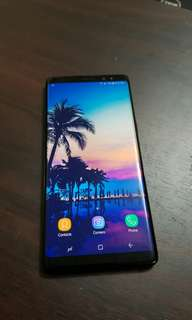 Note 8 64gb Midnight black unlocked