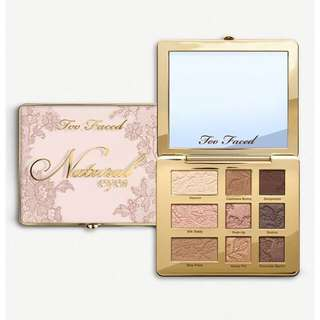 🌿Too Faced Natural Matte Eyeshadow Palette