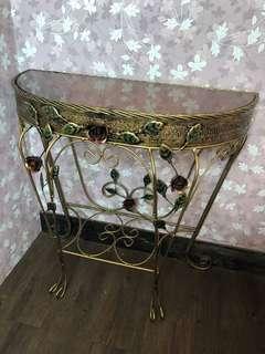 鍛鐵玄關桌