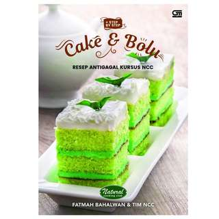 Ebook Cake & Blue Resep Antigagal Kursus NCC - Fatimah Bahalwan & Tim NCC