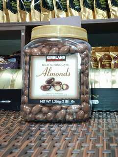 Kirkland chocolate almond