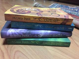 chronicles of ancient darkness books michelle paver spirit walker / ghost hunter / oath breaker / outcast