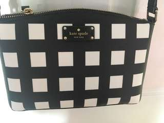 ❗️REDUCED❗️Kate Spade checkered cross body bag
